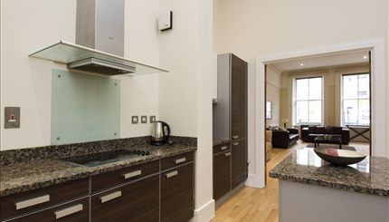 Lancaster Gate - typical Kitchen