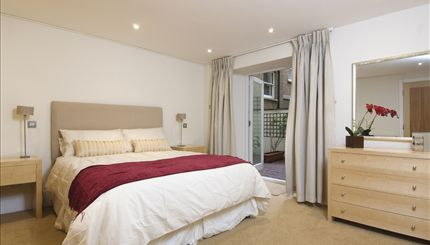 Lancaster Gate - typical bedroom