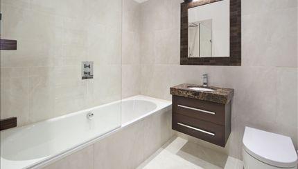 Sutherland Avenue - Flat 3 Typical Bathroom