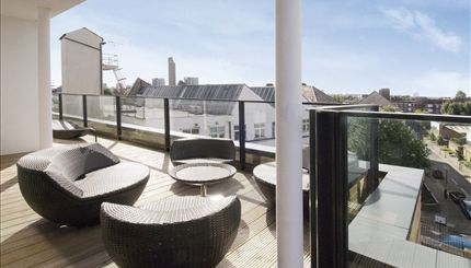 Portobello Lofts - terrace