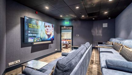 Residents TV Room