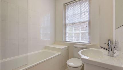 Typical studio bathroom